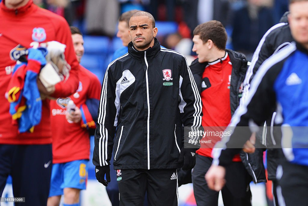 Crystal Palace v Middlesbrough - npower Championship