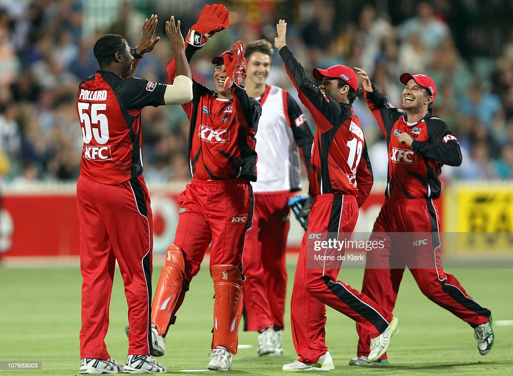 Twenty20 Big Bash - Redbacks v Bushrangers : News Photo