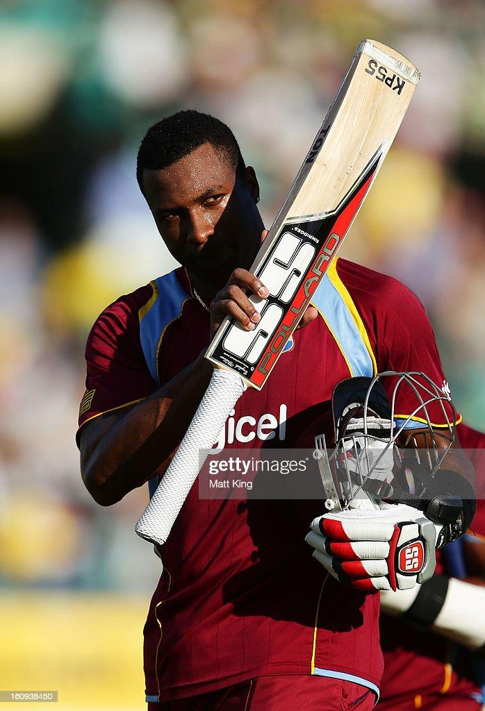 Australia v West Indies - ODI Game 4 : News Photo