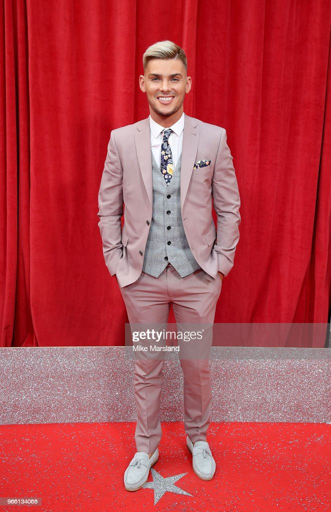 Kieron Richardson attends the British Soap Awards 2018 at Hackney Empire on June 2, 2018 in London, England.