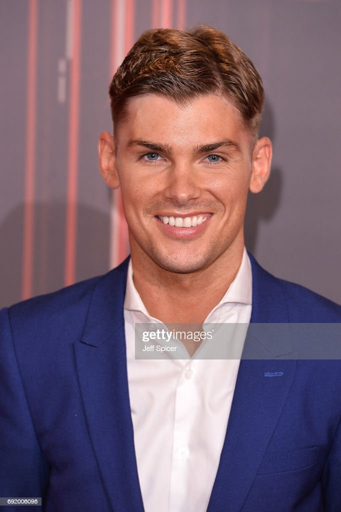 Kieron Richardson attends The British Soap Awards at The Lowry Theatre on June 3, 2017 in Manchester, England. The Soap Awards will be aired on June 6 on ITV at 8pm.