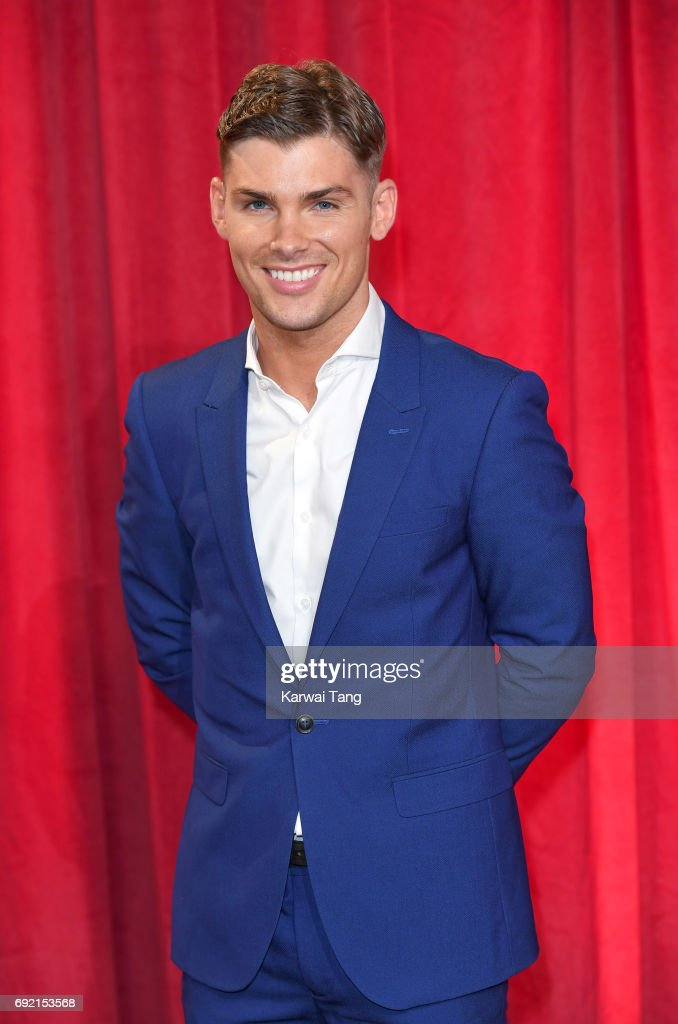 Kieron Richardson attends the British Soap Awards at The Lowry Theatre on June 3, 2017 in Manchester, England.
