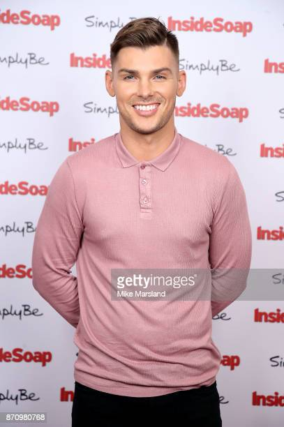 Kieron Richardson attends the Inside Soap Awards held at The Hippodrome on November 6 2017 in London England