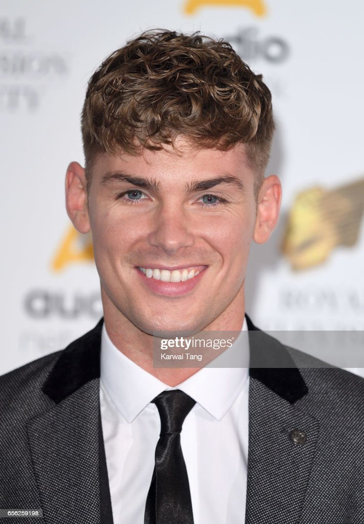 Kieron Richardson attends the Royal Television Society Programme Awards at the Grosvenor House on March 21, 2017 in London, United Kingdom.