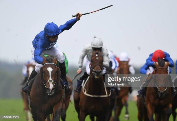 Kieron Shoemark on Atty Persse wins the King George V Stakes on Day Three of Royal Ascot at Ascot Racecourse on June 22 2017 in Ascot England