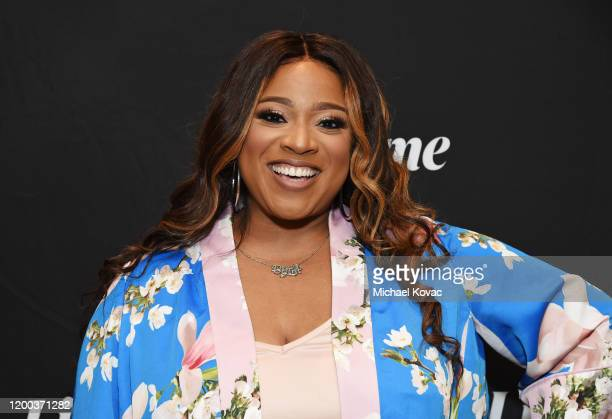 Kierra Sheard attends Lifetime's TCA Panels featuring Supernanny and The Clark Sisters First Ladies of Gospel at the 2020 Winter Television Critics...
