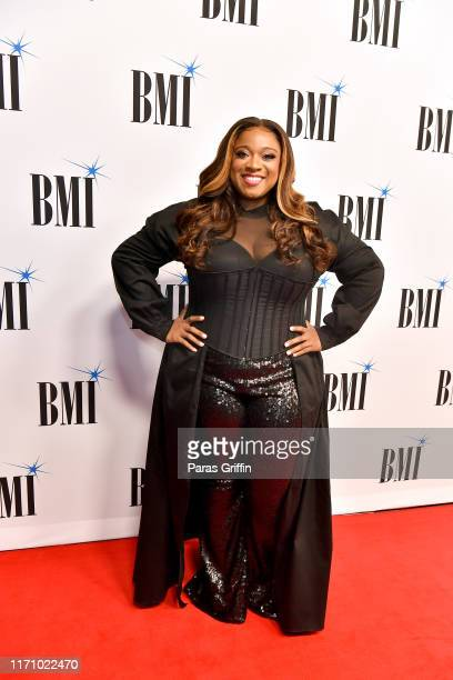 Kierra Sheard attends The 2019 BMI RB/HipHop Awards at Sandy Springs Performing Arts Center on August 29 2019 in Sandy Springs Georgia