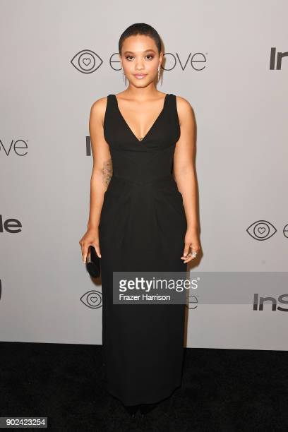 Kiersey Clemons attends 19th Annual PostGolden Globes Party hosted by Warner Bros Pictures and InStyle at The Beverly Hilton Hotel on January 7 2018...
