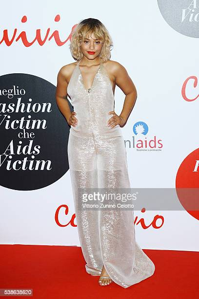 Kiersey Clemons attends Convivio 2016 photocall on June 7 2016 in Milan Italy