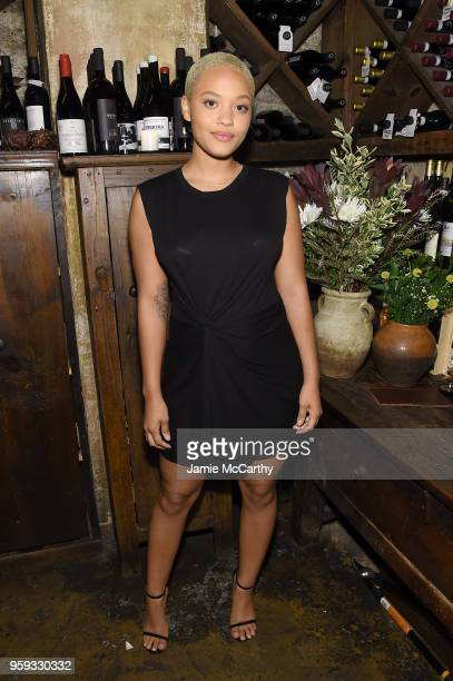 Kiersey Clemons attends ELLE x Stuart Weitzman celebration of Giovanni Morelli's debut collection for Stuart Weitzman hosted by Nina Garcia on May 16...