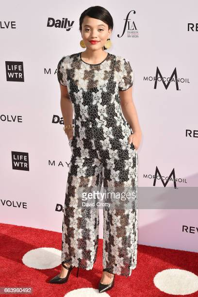 Kiersey Clemons attends the Daily Front Row's 3rd Annual Fashion Los Angeles Awards - Arrivals at Sunset Tower Hotel on April 2, 2017 in West...
