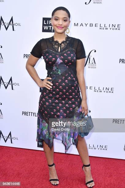 Kiersey Clemons attends The Daily Front Row's 4th Annual Fashion Los Angeles Awards - Arrivals at The Beverly Hills Hotel on April 8, 2018 in Beverly...