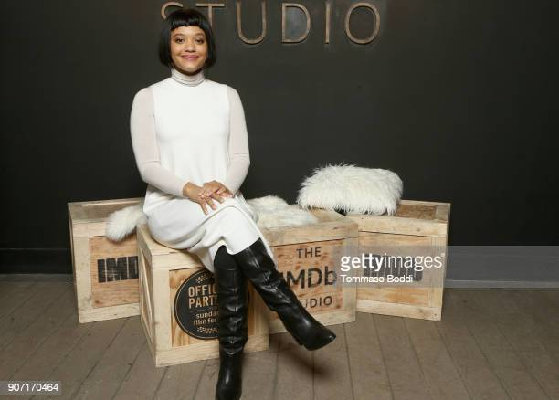 Kiersey Clemons from 'Hearts Beat Loud' attends The IMDb Studio at The Sundance Film Festival on January 19 2018 in Park City Utah