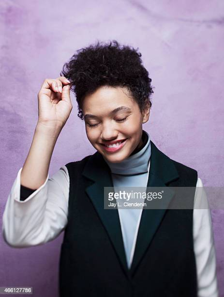 Kiersey Clemons photographed for Los Angeles Times at the 2015 Sundance Film Festival on January 24 2015 in Park City Utah PUBLISHED IMAGE CREDIT...