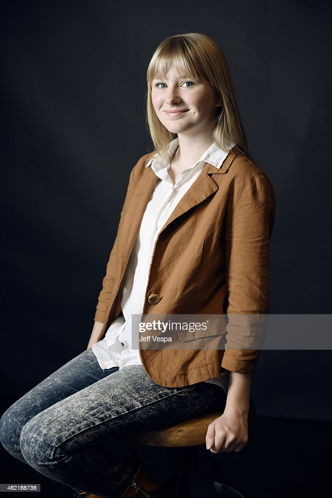 Kiersten Myers poses for a portrait at the Village at the Lift Presented by McDonald's McCafe during the 2015 Sundance Film Festival on January 25, 2015 in Park City, Utah.