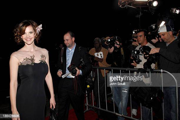Kiersten Warren during The Astronaut Farmer Los Angeles Premiere Red Carpet at Cinerama Dome in Hollywood California United States