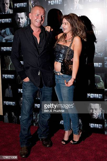 Kierston Wareing and Sean Pertwee attends the UK premiere of 'Four' at The Empire Cinema on October 10 2011 in London England