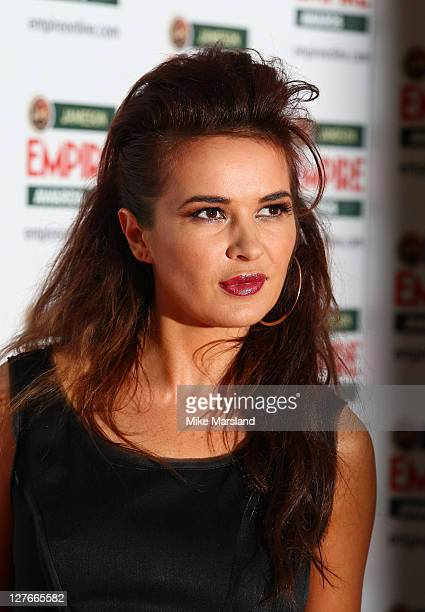 Kierston Wareing arrives at the Jameson Empire Awards at The Grosvenor House Hotel on March 27 2011 in London England