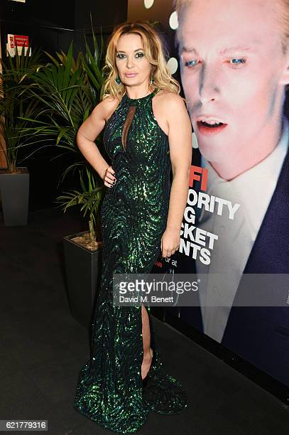 Kierston Wareing attends the UK Premiere of '100 Streets' at the BFI Southbank on November 8 2016 in London United Kingdom