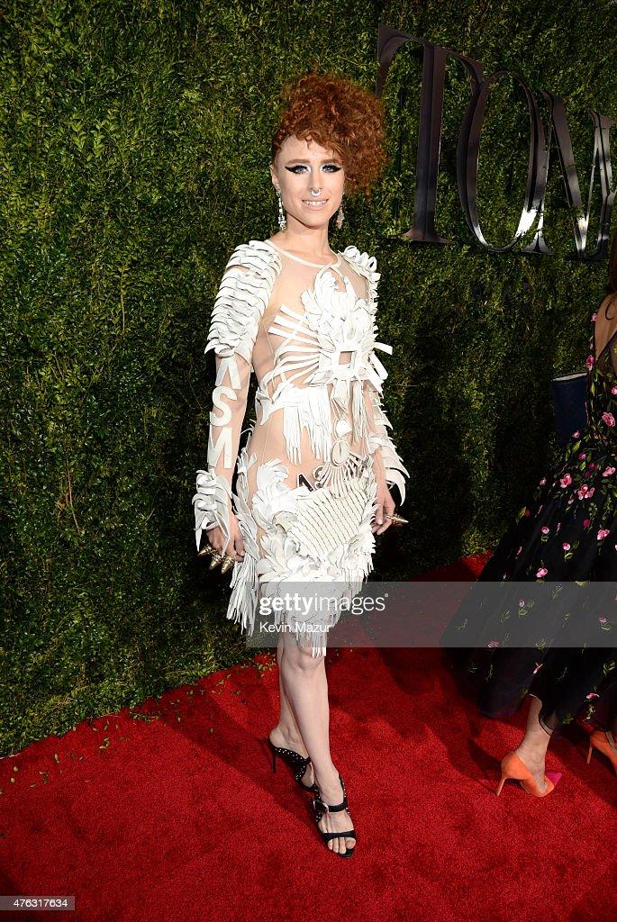Kiesza attends the 2015 Tony Awards at Radio City Music Hall on June 7, 2015 in New York City.
