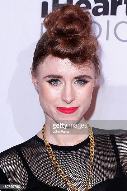 Kiesza attends Y100's Jingle Ball 2014 at BBT Center on December 21 2014 in Miami FL