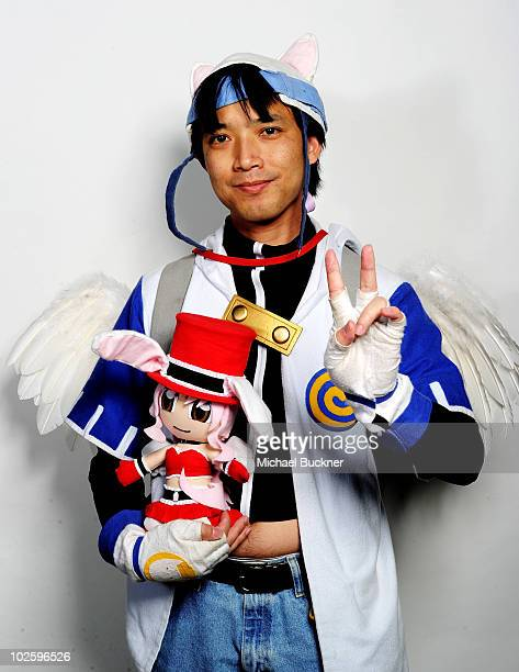 Kiet Hua poses for a portrait outside Anime Expo 2010 at the Los Angeles Convention Center on July 2 2010 in Los Angeles California