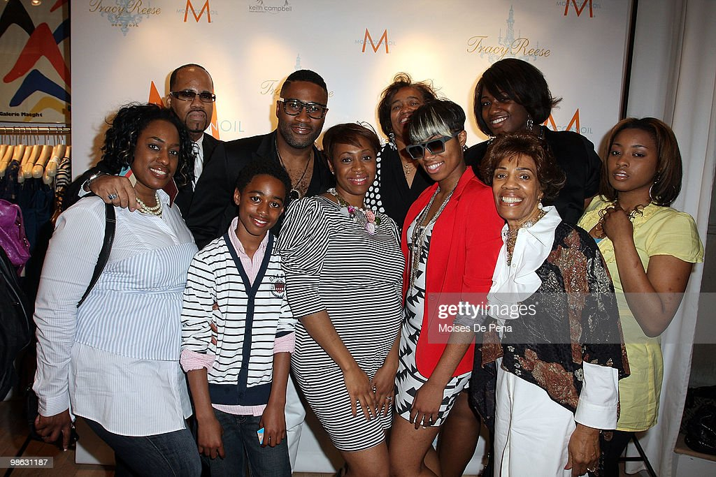 Kieth Cambell and family attends the 'Cuts Of Our Infirmities' book launch party at the Tracy Reese Boutique on April 22, 2010 in New York City.