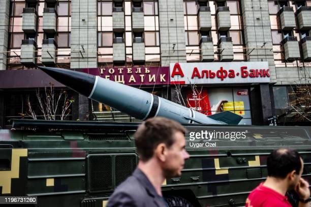 25点の弾道弾迎撃ミサイルのストックフォト - Getty Images