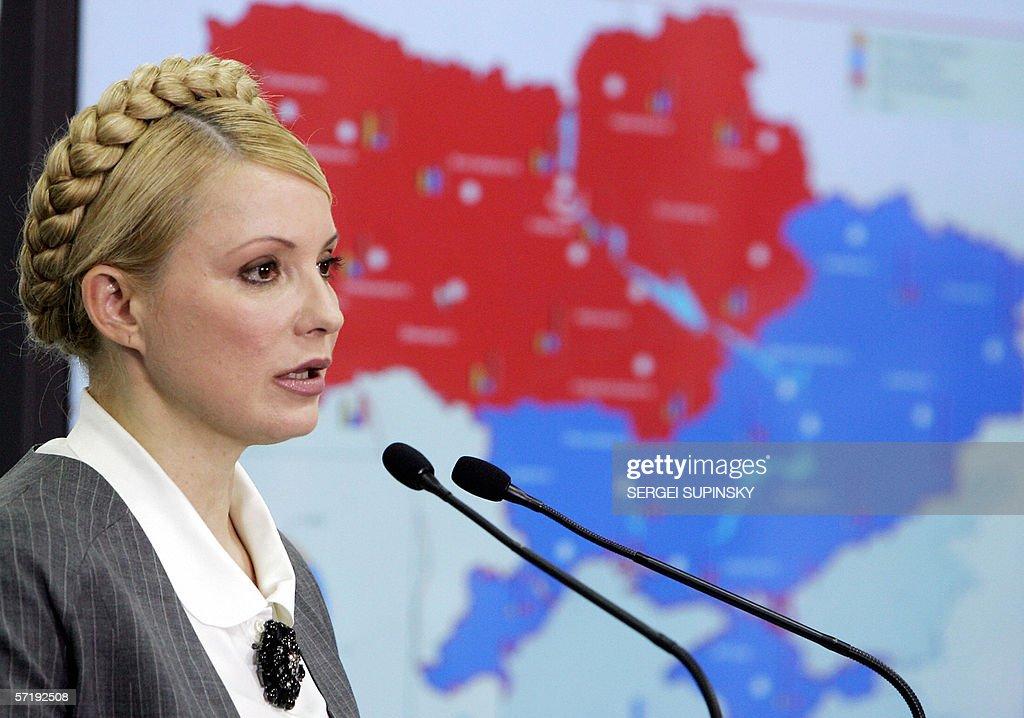 "Yulia Tymoshenko, the ""orange revolution : News Photo"