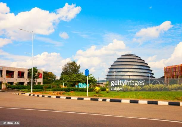 ルワンダのキガリ コンベンション センター - キガリ ストックフォトと画像