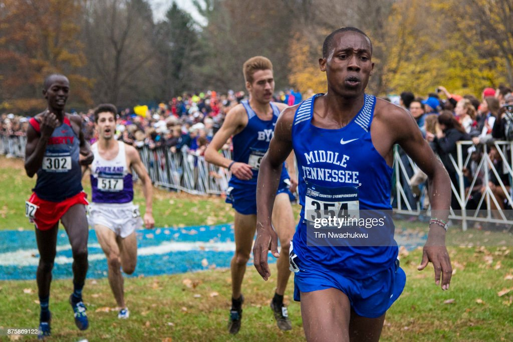 NCAA Division I Men's and Women's Cross Country Championship : Nieuwsfoto's