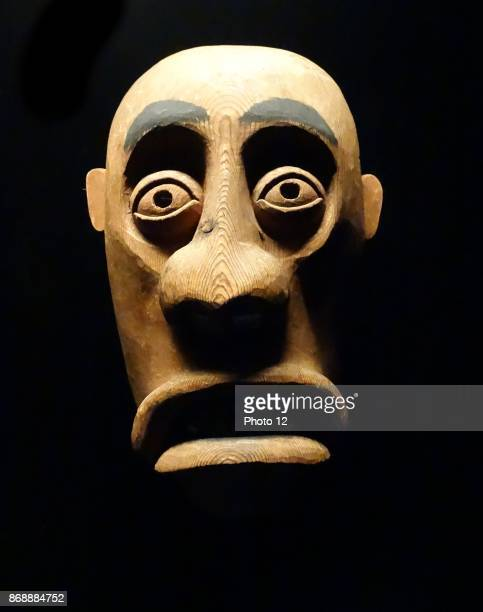 Kiiappaat mask from the Ammassalik district in the eastern coast of Greenland