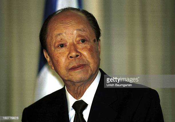Kiichi MIYAZAWA finance minister of Japan during the G7 meeting of the finance ministers and of the heads of the central banks on the Petersberg at...