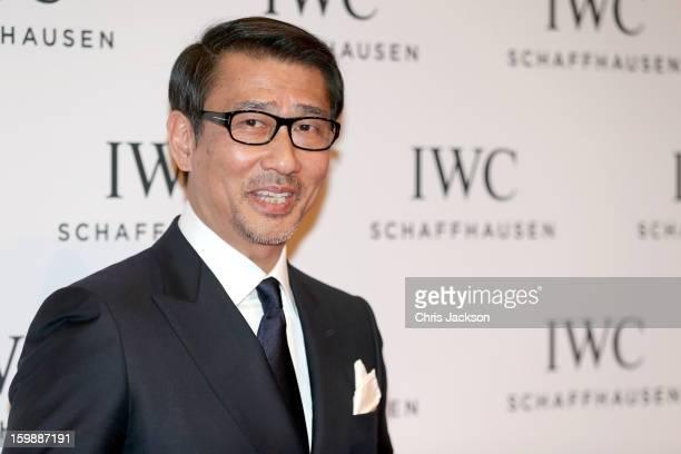 Kiichi Nakai attends the IWC Schaffhausen Race Night event during the Salon International de la Haute Horlogerie 2013 at Palexpo on January 22, 2013...