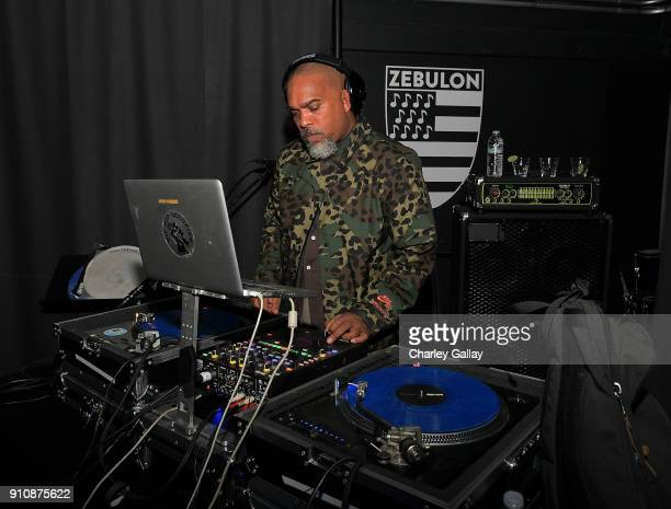 Kiilu Grand of Freestyle Fellowship performs at ALAC MUSIC SERIES @ ZEBULON Freestyle Fellowship at Zebulon on January 26 2018 in Los Angeles...