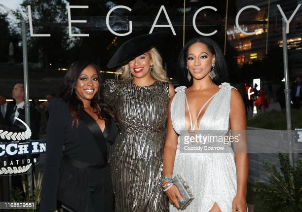 Kijafa Vick Amber Sabathia and Alexis Stoudemire attend The LegaCCy Gala at The Shed on September 16 2019 in New York City