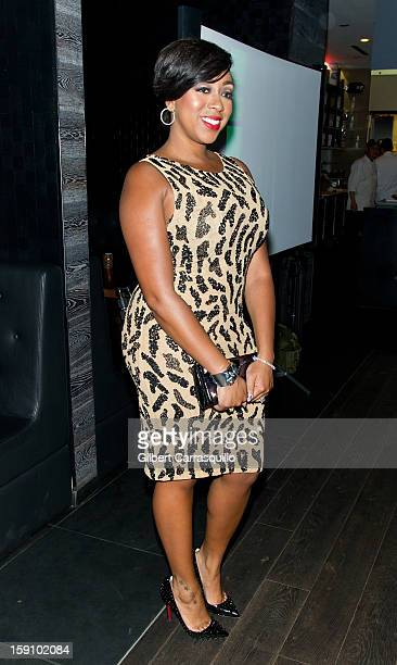 Kijafa Vick attends An Evening With 7 at 7 On the 7th at on January 7 2013 in Philadelphia City