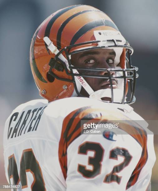 KiJana Carter Running Back for the Cincinnati Bengals during the American Football Conference West game against the San Diego Chargers on 8 September...