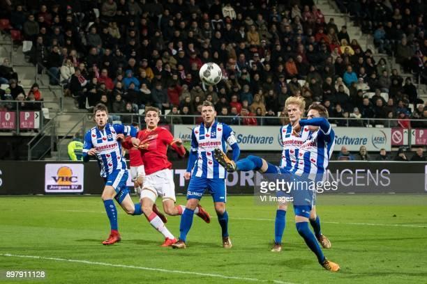 Kik Pierie of sc Heerenveen Guus Til of AZ Stijn Schaars of sc Heerenveen Morten Thorsby of sc Heerenveen Daniel Hoegh of sc Heerenveen during the...