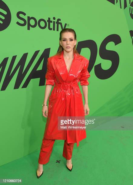 Kika Edgar attends the 2020 Spotify Awards at the Auditorio Nacional on March 05 2020 in Mexico City Mexico