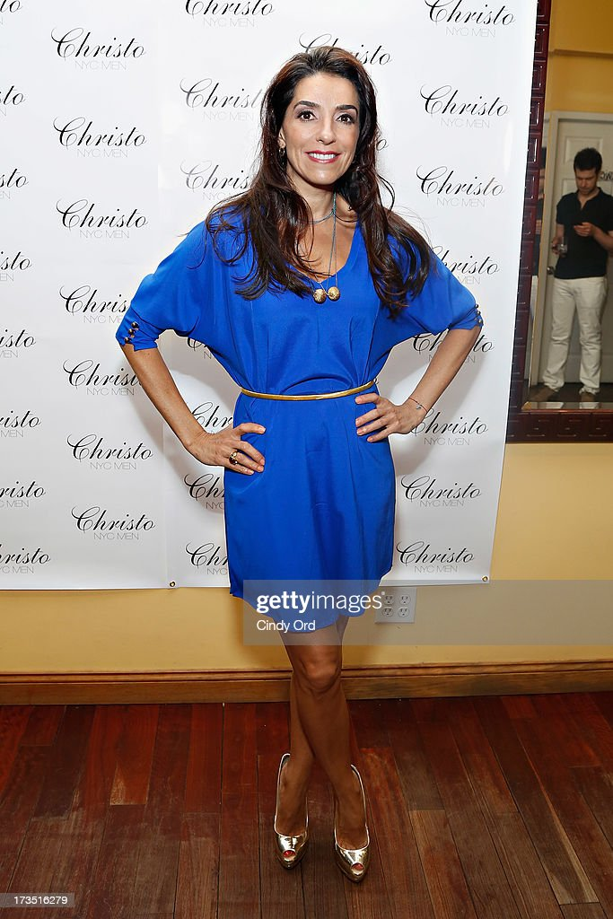 Kika Rocha attends the Christo Men NYC Press Preview at Christo Fifth Ave on July 15, 2013 in New York City.