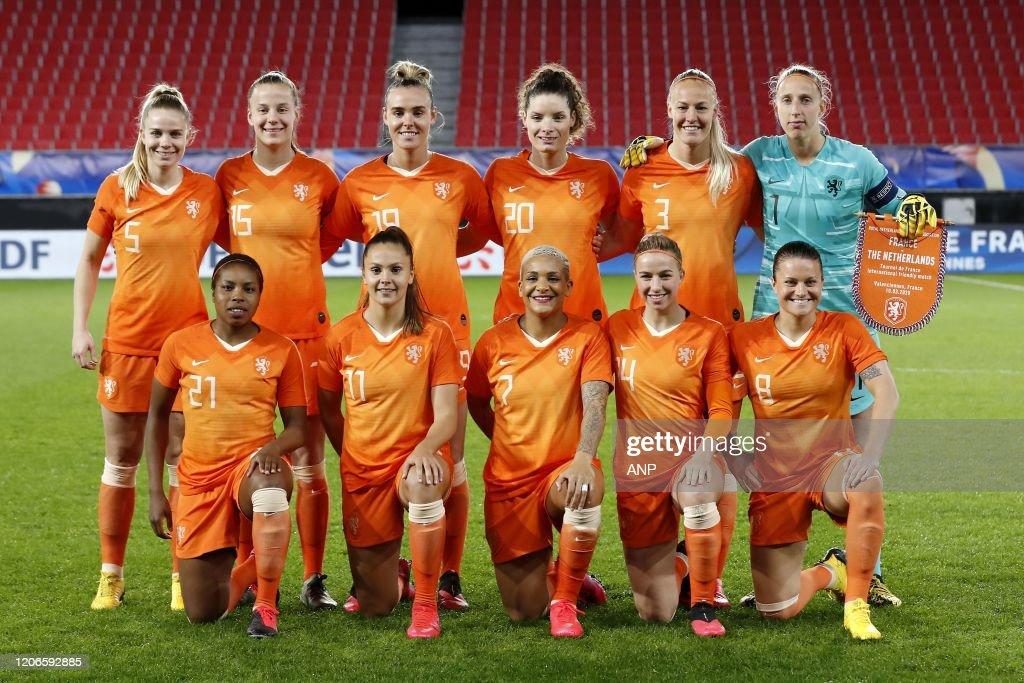 "International Friendly""Women: France v The Netherlands"" : ニュース写真"