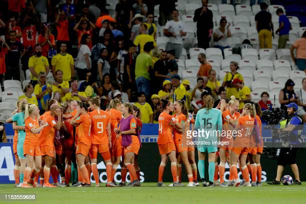 Kika van Es of Holland Women Shanice van de Sanden of Holland Women Sherida Spitse of Holland Women Vivianne Miedema of Holland Women Victoria Pelova...