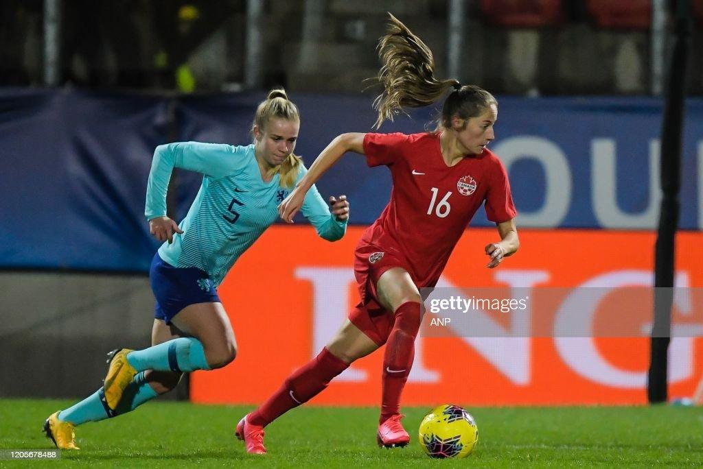 "International Friendly""Women: Canada v The Netherlands"" : News Photo"