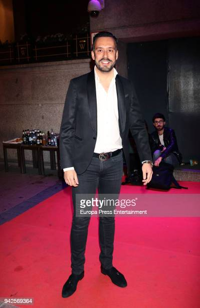 Kike Calleja attends the Alejandra Rubio's birthday photocall' at Gabana disco on April 5 2018 in Madrid Spain