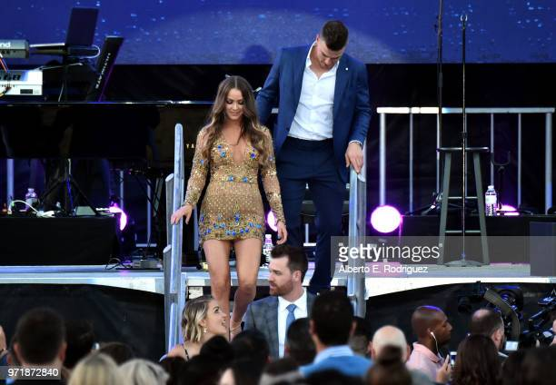 Kike Hernandez attends the Fourth Annual Los Angeles Dodgers Foundation Blue Diamond Gala at Dodger Stadium on June 11, 2018 in Los Angeles,...