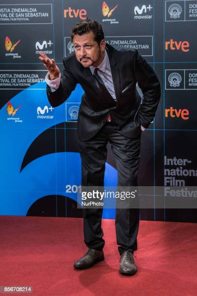 Kike Maillo attends the red carpet of the closure gala during 65th San Sebastian Film Festival at Kursaal on September 30 2017 in San Sebastian Spain