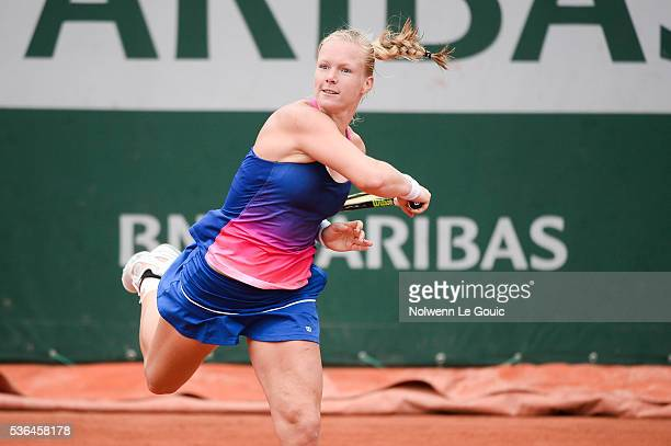 Kiki Bertens during the day eleven of the French Open 2016 at Roland Garros on June 1 2016 in Paris France