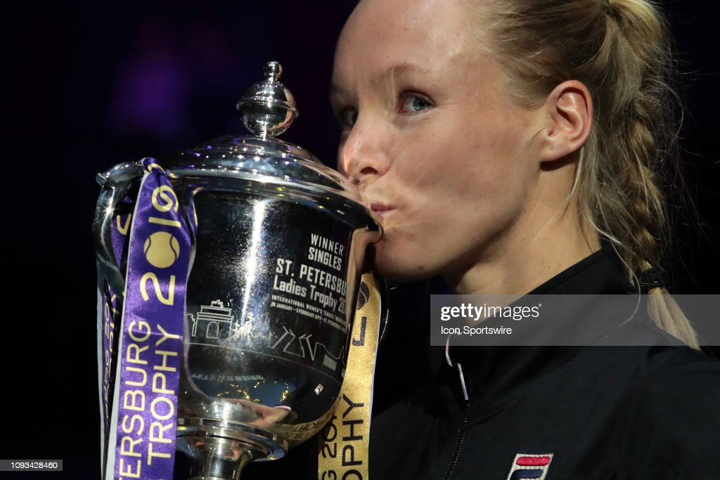 TENNIS: FEB 03 St. Petersburg Ladies Trophy : News Photo