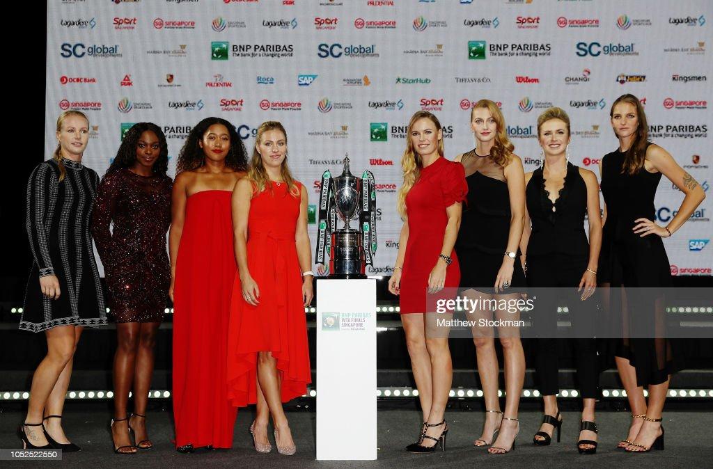 BNP Paribas WTA Finals Singapore presented by SC Global - Previews : ニュース写真